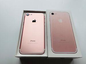 Apple iPhone 7 128GB Rose Gold   Unlocked   A1778   Ref 2