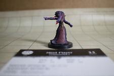 D&D Mind Flayer Mini Harbinger #50 w/Card, Pathfinder Dungeons Dragons
