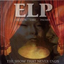 Emerson Lake and Palmer The Show That Never Ends 2 CD ELP