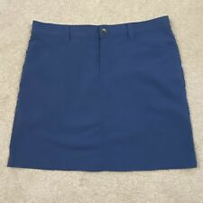 New listing Eddie Bauer Women's Golf Hiking Skort Skirt Shorts Slate Blue Size 6
