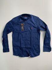 New Men Harmont and Blaine Shirt Blue With Light Blue Dots - Size XXXL