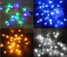 5m/40 10m/80 LED String Fairy Lights Battery Operated Wedding Party Venue Decor