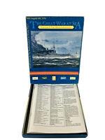 Avalanche Wargame Great War at Sea #1 - The Mediterranean (1st Ed) VG+