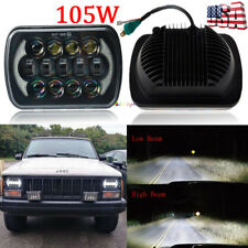 "Newest Brightest 105W 7X6"" 5X7"" Led Headlight Drl For Chevrolet Jeep Cherokee Xj (Fits: Chevrolet)"