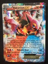 POKEMON STEAM SIEGE VOLCANION EX ULTRA RARE HALF ART MINT 26/114 PSA
