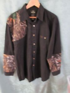 RedHead Shooting Shirt Size Large Right Hand Black & Camo