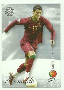 CRISTIANO RONALDO Futera 2007 Base card