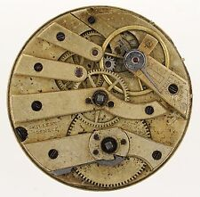 Milleret GENEVE SWISS CILINDRO Pocketwatch movimento RICAMBI & Riparazioni r259
