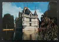 1962 Poitiers France To Vancouver British Columbia Château d'Azay Airmail Cover