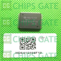 1PCS HD6415108F10 Encapsulation:QFP,16-Bit MICROCONTROLLER