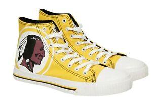 Washington Redskins NFL Mens High Top Big Logo Canvas Shoes