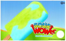 Ice Cream Truck Decal Sticker Sour Wower Sour Blue Raspberry Popsicle