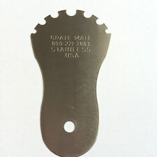 Oven, BBQ, Grill Scraper/ Cleaner By GRATE MATE  Easy To Use, Stainless Steel