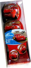 DISNEY LIGHTNING MCQUEEN JUGGLING BALLS LEARN TO JUGGLE SET OF 3 KIDS CIRCUS TOY