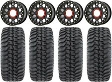 "Xs235 Grenade Beadlock 14"" Wheels 30"" Regulator Tires Yamaha Viking Wolverine"