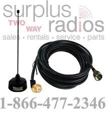 Black Antenna Hole Mount Motorola VHF SPECTRA XPR4550 XPR5550 CM300 CM200 CM300D