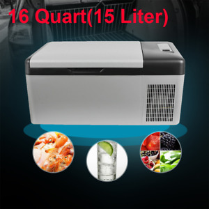 Portable Travel Car Freezer Electric Fridge Refrigerator 15L Cooler 12V APP Use