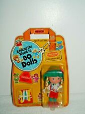1982 Remco A Mel Appel Around the World in 80 Dolls Germany Doll Nip #990