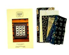 """Itty Bitty Baskets Paper Foundation Quilt Pattern 15"""" x 16.5"""" MH Designs +Fabric"""