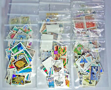 HIGH VALUE DECIMAL STAMPS PACKAGE USED MIXTURE AUSTRALIA PAGE WORTH OFF PAPER