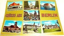 Grüsse aus Berlin Ansichtskarte 50er 60er Jahre 18 å
