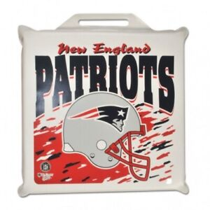 TWO (2) NEW ENGLAND PATRIOTS SEAT CUSHIONS FROM WINCRAFT