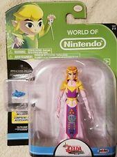 PRINCESS ZELDA with OCARINA Accessory World of Nintendo Game Figure