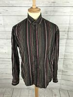 Men's Ben Sherman Premium Shirt - Medium  - Striped - Great Condition