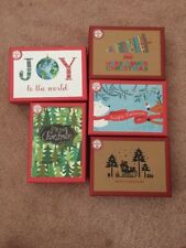 Lot Of 5 Boxes PAPYRUS ECO FRIENDLY Boxed Holiday Christmas Cards Retail $64.75!