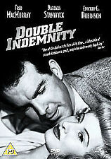 DOUBLE INDEMNITY (FILM NOIR) - DVD**NEW SEALED**FREE POST**