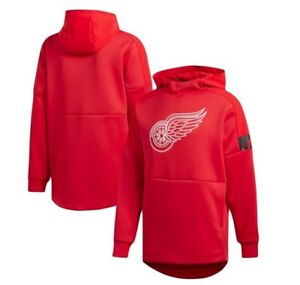 Detroit Red Wings Adidas NHL Game Mode Sweatshirt Adult Small MSRP $70 **NEW**