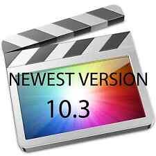 Final Cut Pro X 10.3 Latest Version Disc Version.