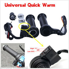 Universal Motorcycle Heated Grip Warm For Motorcycle With 22mm 7/8""