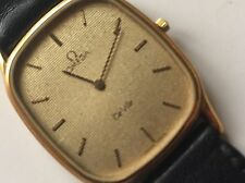 Gold Plated Case Unisex OMEGA Wristwatches
