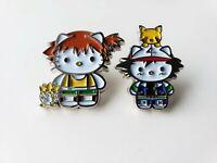 Pokemon (Ash Misty Pikachu) X Hello Kitty Metal Enamel Pin Nintendo - Collector
