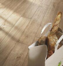 £18.59/m2 Porcelain Tiles Brown Wood Effect 120X20 Wall-Floor Kitchen-Bathroom