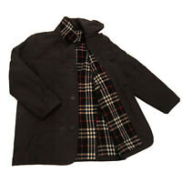Burberry London Quilted Coat Jacket Nova check Lined blue navy men Size 3/M