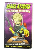Steve Jackson Games, Mars Attacks Ten-Minute Takedown Game, New and Sealed