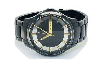 Armani Exchange AX2192 Black Dial Bracelet Men's Watch - (198E)