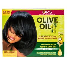 ORS Olive Oil Built-In Protection No Lye Relaxer for Coarse Hair Extra Strength