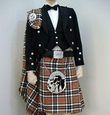 15 Pcs | Scottish Prince Charlie Jacket and KIlt outfit set | PCJK15 | Geoffrey