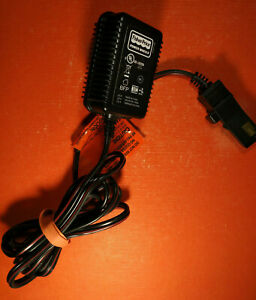 Fisher Price  00801-1778  Power Wheels 12V 1A Adapter Charger Cord, OEM