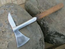Genuine Vintage Rescue Axe in Carbon Steel Old Tool Fireman Firefighter
