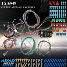 21 Circuit Wiring Harness Street Hot Rat Rod Custom Universal Wire Kit Xl Wires