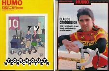 HUMO 2443 (2/7/87) CRIQUIELION REDFORD SIMPLY RED RITA MITSOUKO IGGY POP SOUL