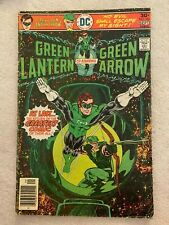 COLLECTIBLE 1976 GREEN LANTERN AND GREEN ARROW COMIC BOOK ISSUE #90