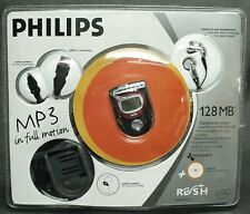 PHILLIPS RUSH Mini MP3 Player Kit 128mb Black With Accessories Digital Media NEW