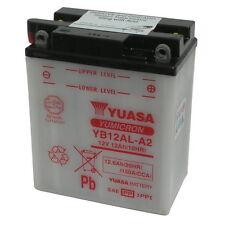 Batteria Originale Yuasa YB12AL-A2 + Acido Peugeot Satelis 125 2006 in poi