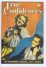 True Confidences #1 ELHIL Pub 1949 CANADIAN EDITION