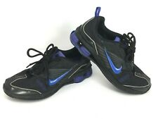 NIKE SHOX IZI Women's Size 8.5 Black Purple Running Shoes Sneakers